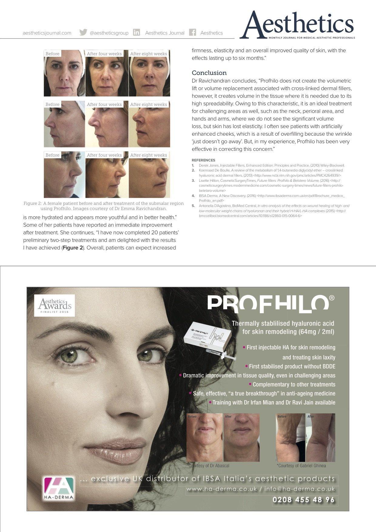 Spotlight On: Profhilo - Aesthetic Training Academy